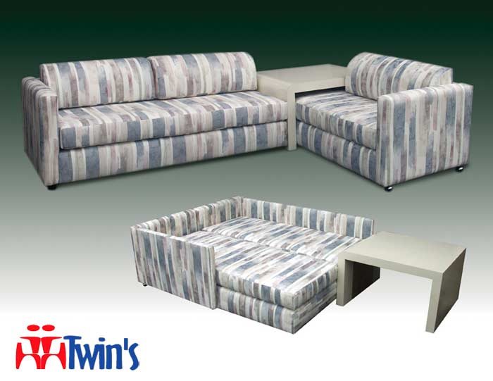 T 2015 Twin Bahama Bed Twins Upholstery Living Room Set